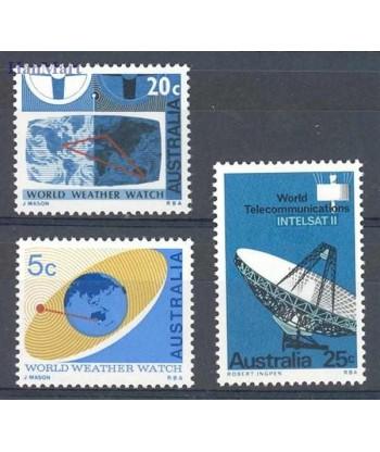 Australia 1968 Mi 395-397 Czyste **