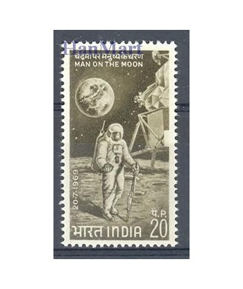 Indie 1969 Mi 487 Czyste **