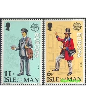 Wyspa Man 1979 Mi 142-143 Czyste **