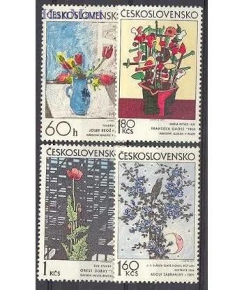 Czechosłowacja 1974 Mi 2185-2188 Czyste **