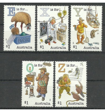 Australia 2018 Mi 4857-4861 Czyste **