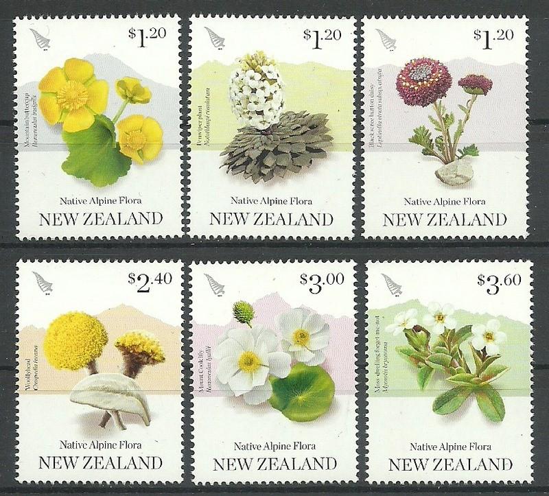 Nowa Zelandia 2019 Mi 3654-3659...