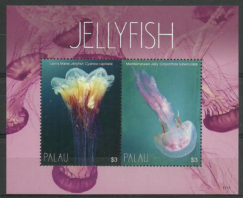 Palau 2018 Mi bl (1711) MNH