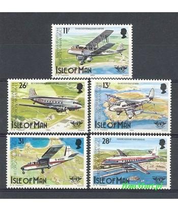 Wyspa Man 1984 Mi 256-260 Czyste **