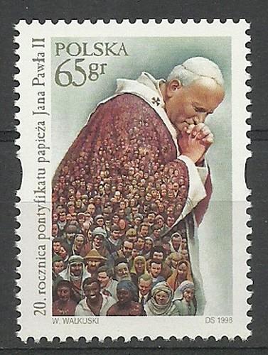 Polska 1998 Mi 3732 Fi 3584 Czyste **