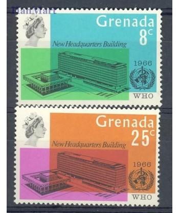 Grenada 1966 Mi 219-220 Czyste **