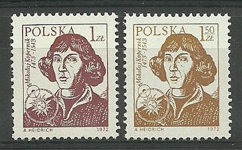 Polska 1972 Mi 2230-2231 Fi 2083-2084...