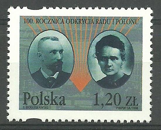 Polska 1998 Mi 3726 Fi 3578 Czyste **