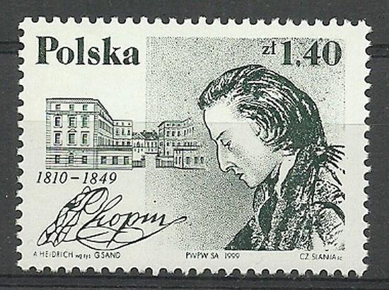 Polska 1999 Mi 3794 Fi 3646 Czyste **