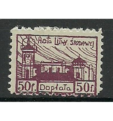Litwa Środkowa 1921 Mi por 1 Fi por 1...