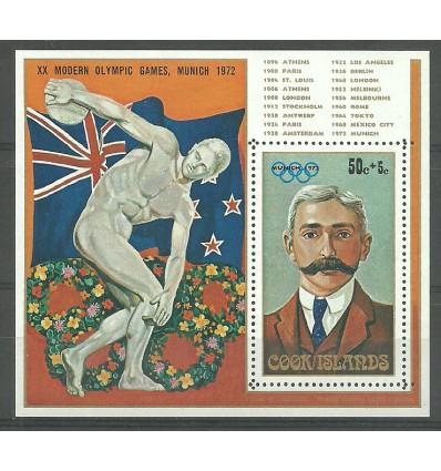 Cook Islands 1972 Mi bl 16 MNH