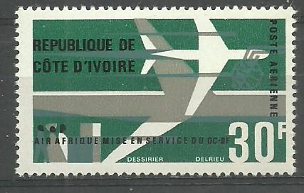 Wybrzeże Kości Słoniowej 1966 Mi 304...