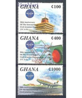 Ghana 1994 Mi 2112-2114 Czyste **