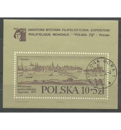Polska 1973 Mi bl 55 Fi bl 91...