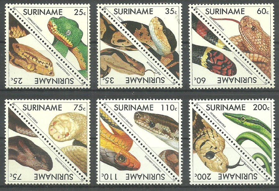 Surinam 1991 Mi 1379-1390 Czyste **