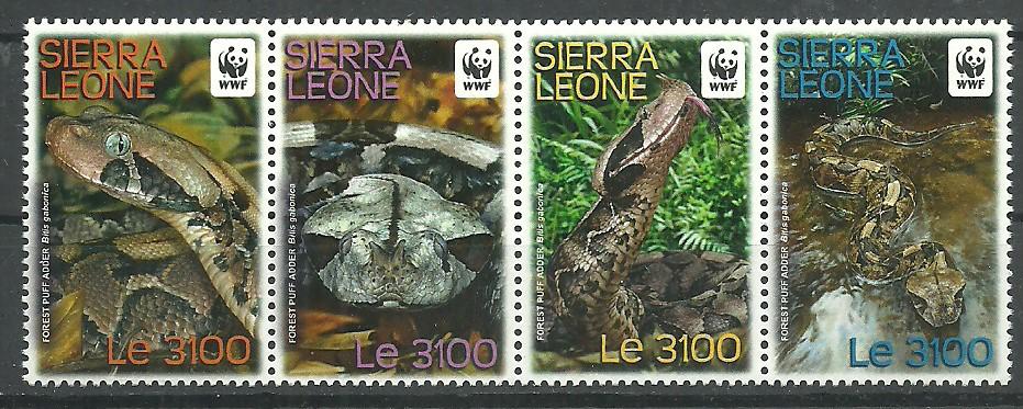 Sierra Leone 2011 Mi 5498-5501 MNH