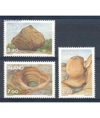 Wyspy Alandzkie 1995 Mi 92-94 Czyste **