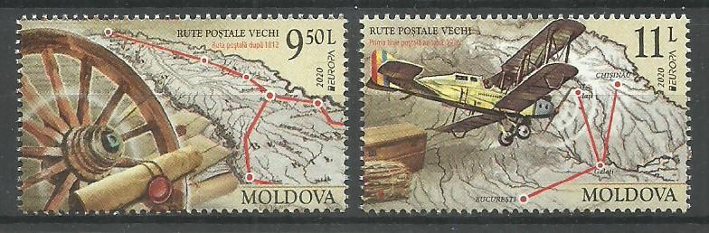 Moldova 2020 Mi 1130-1131 MNH