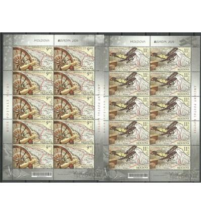 Moldova 2020 Mi ark 1130-1131 MNH