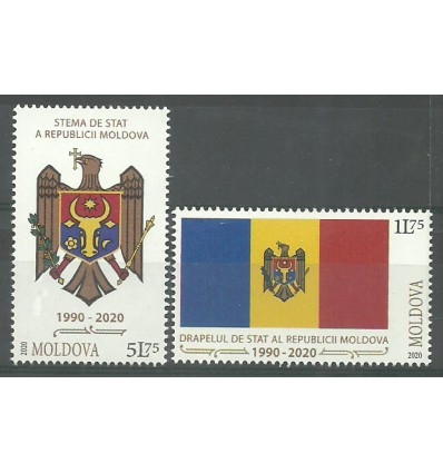 Mołdawia 2020 Mi (2020-10) Czyste **