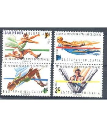 Bułgaria 1992 Mi 3986-3989 Czyste **