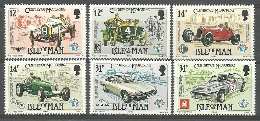 Isle of Man 1985 Mi 282-287 MNH