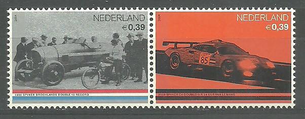 Netherlands 2004 Mi 2203-2204A MNH