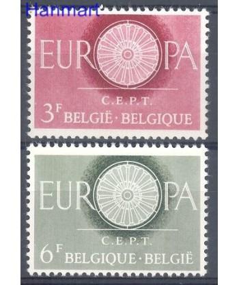 Belgia 1960 Mi 1209-1210 Czyste **