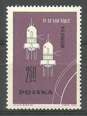 Poland 1963 Mi 1444 err Fi 1296 B2 MNH