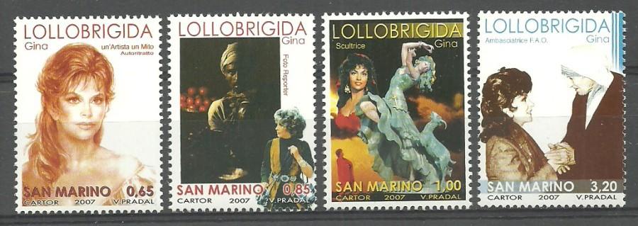 San Marino 2007 Mi 2287-2290 MNH
