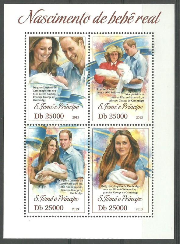 Sao Tome and Principe 2013 Mi ark...