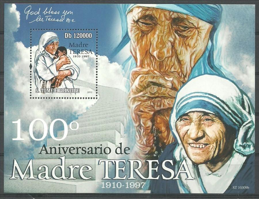 Sao Tome and Principe 2010 Mi bl 781 MNH
