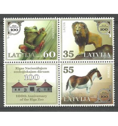 Łotwa 2012 Mi 831-833 Czyste **