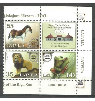 Latvia 2012 Mi 831-833 MNH