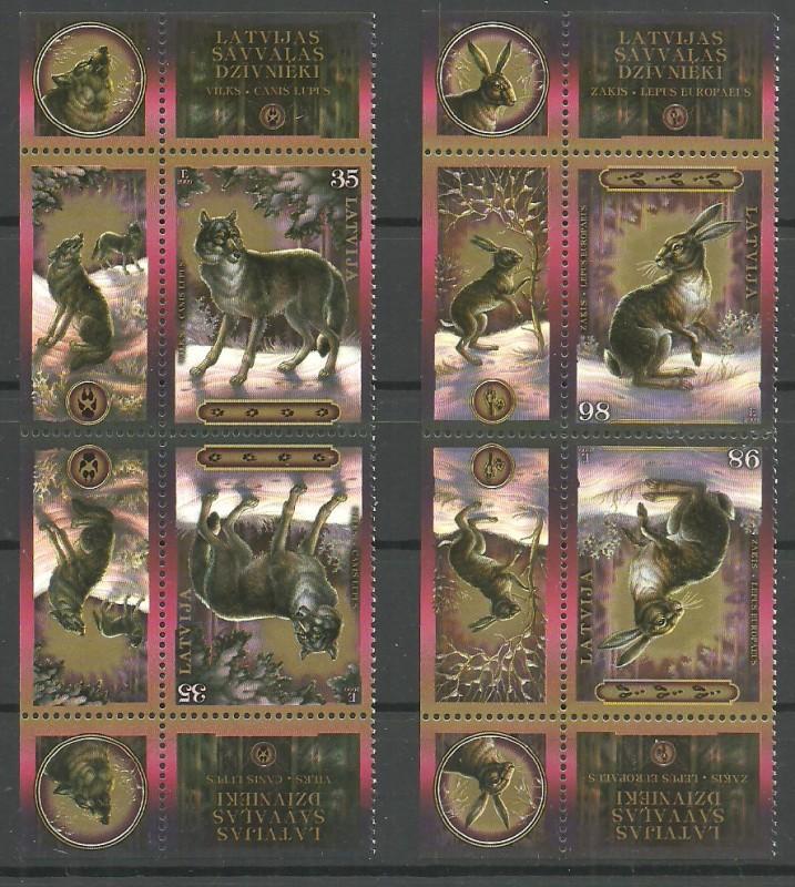 Łotwa 2009 Mi keh 769-770 Czyste **