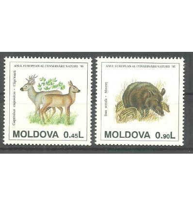 Moldova 1995 Mi 158+160 MNH