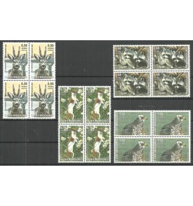 Luksemburg 2003 Mi 1622-1625 Czyste **