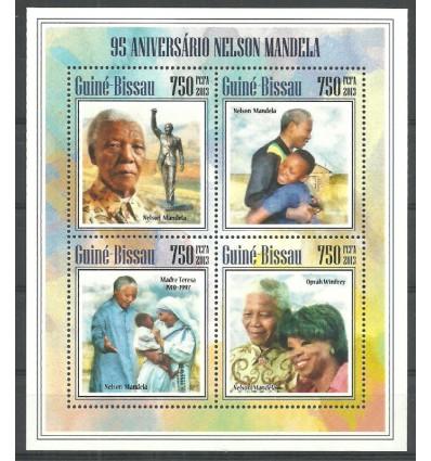 Guinea-Bissau 2013 Mi ark 6961-6964 MNH