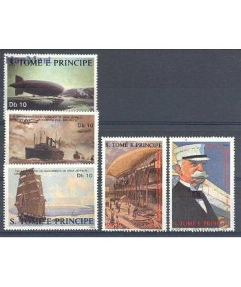 Wyspy Świętego Tomasza i Książęca 1988 Mi 1056-1060 Czyste **