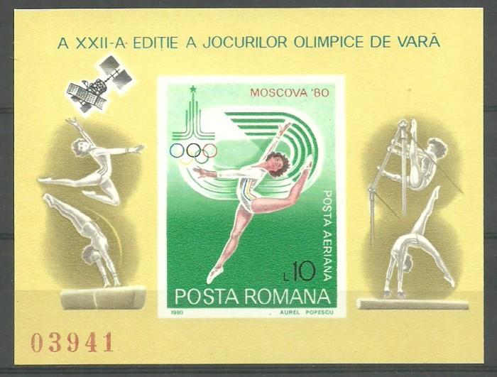 Rumunia 1980 Mi bl 172 Czyste **