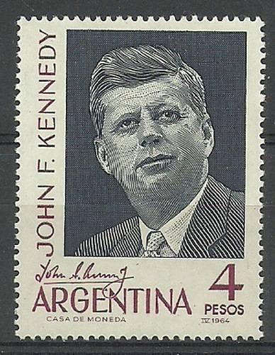 Argentyna 1964 Mi 838 Czyste **
