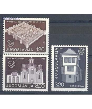 Jugosławia 1975 Mi 1627-1629 Czyste **