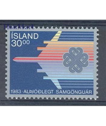 Islandia 1983 Mi 605 Czyste **