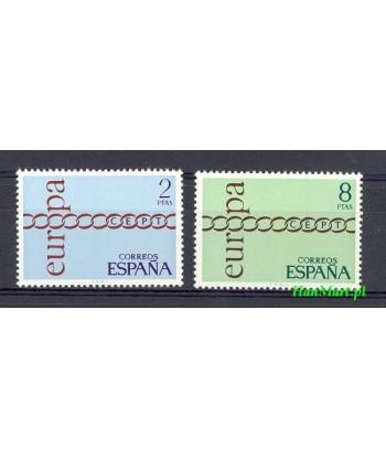 Hiszpania 1971 Mi 1925-1926 Czyste **