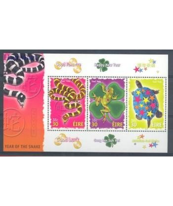 Irlandia 2001 Mi bl 37 Czyste **