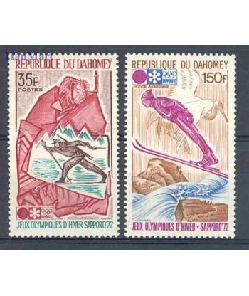 Dahomej 1972 Mi 470-471 Czyste **