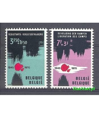 Belgia 1970 Mi 1598-1599 Czyste **