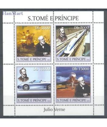 Wyspy Świętego Tomasza i Książęca 2004 Mi 2554-2557 Czyste **