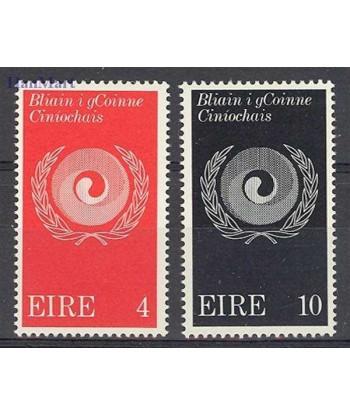 Irlandia 1971 Mi 270-271 Czyste **