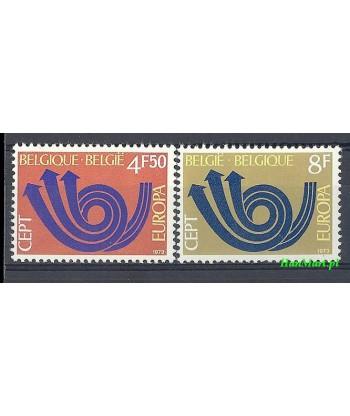 Belgia 1973 Mi 1722-1723 Czyste **
